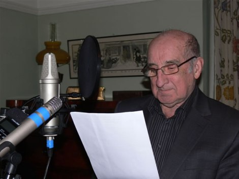 Jim Parc Nest records the CD insert for A Map of Love by Jackie Hayden